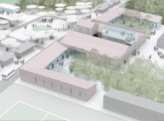 Vista general del nuevo plan. Imagen cortesía de Estudio Lauria