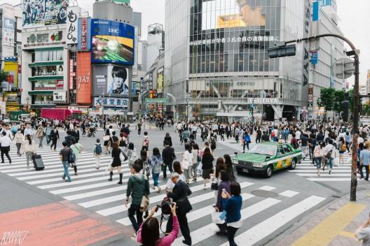 Cruce de Shibuya en Tokio, Japón. © armsultan, vía Flickr.