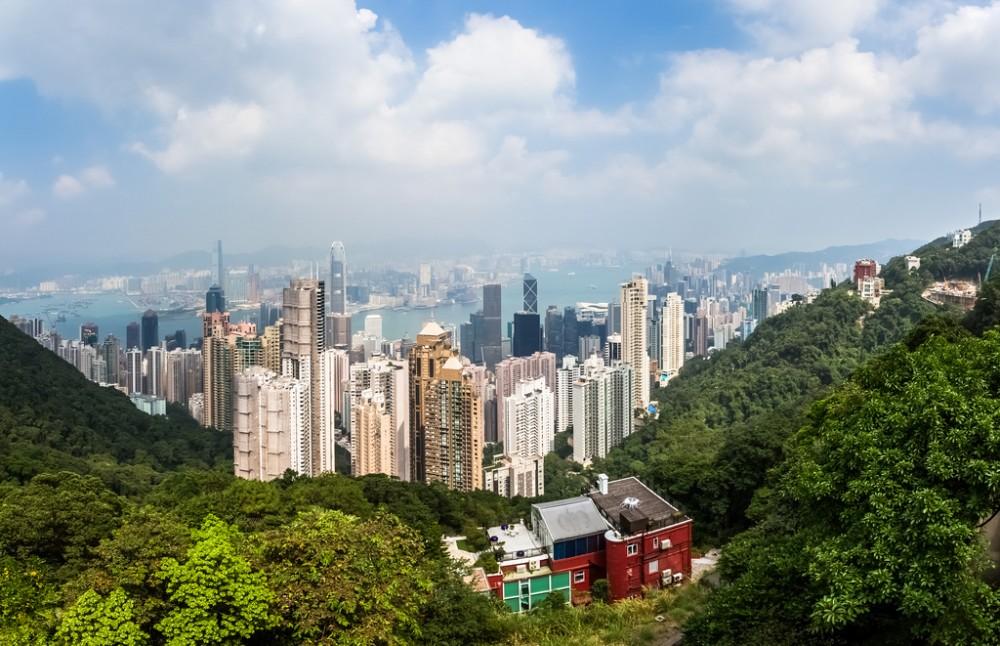 Cumbre Victoria en Hong Kong. © Sjekster, vía Flickr.