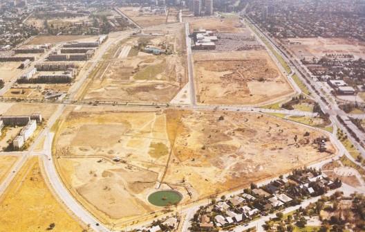 Parque Araucano en 1983. Autor: Desconocido. Archivo Las Condes. Cortesía @enterrenochile