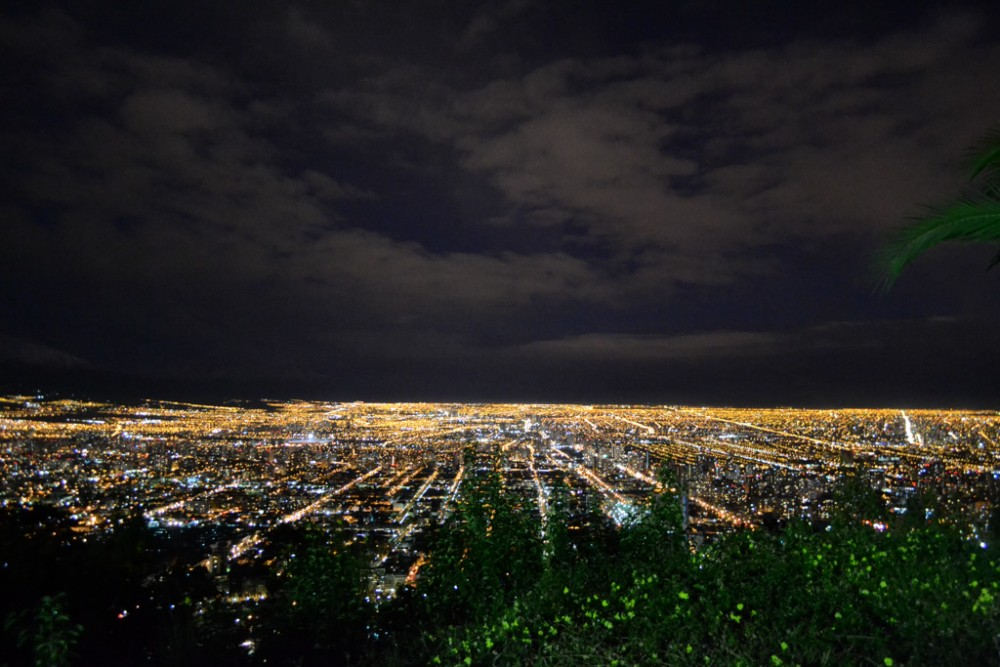 En Terreno Chile Instagram Santiago desde Cerro San Cristobal 2013 - Valentina Bengoa