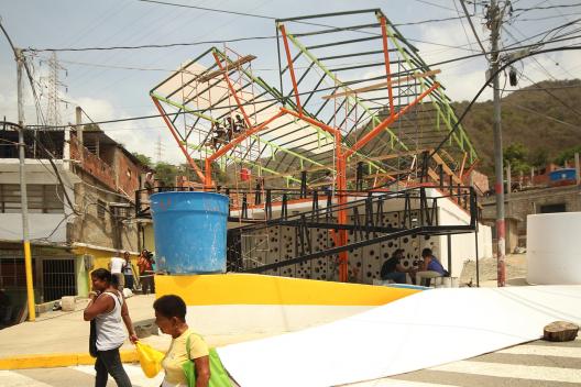 Espacios de Paz en La Guaira. © Cortesía Plataforma Arquitectura