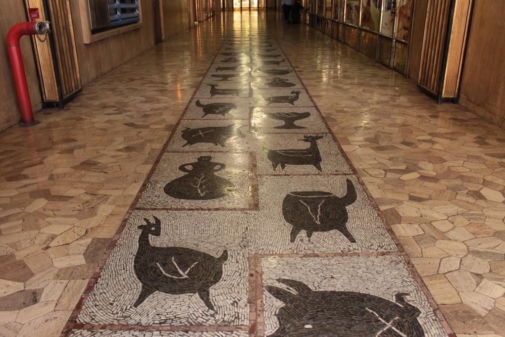 Galería Juan Esteban Montero . Quinchamali de Nemesio Antunez Cortesia Santiago a Pata