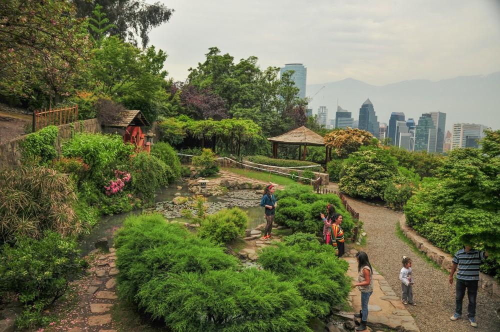 Jardin japones parque metropolitano de santiago foto por for Jardin japones de santiago