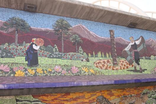 Mosaicos Puente Alto Cortesia Santiago a Pata