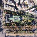 Museo de Arte Contamporaneo izquierda y Museo Nacional de Bellas Artes en el Parque Forestal