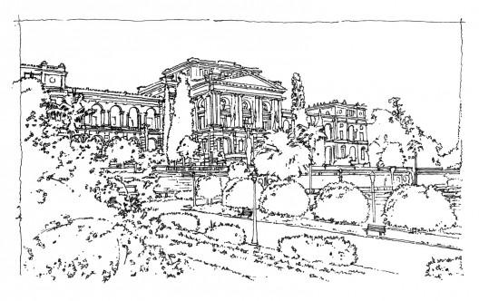 Museu do Ipiranga, São Paulo. Imagen Cortesía de Terra Urbanismo