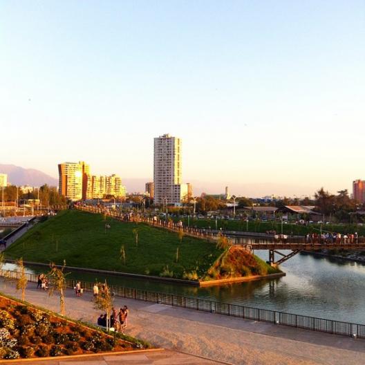 Parque Fluvial Renato Poblete.  © Plataforma Urbana en Instagram