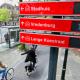 P-route en Utrech, Países Bajos. Fuente: Ayuntamiento de Utrech.