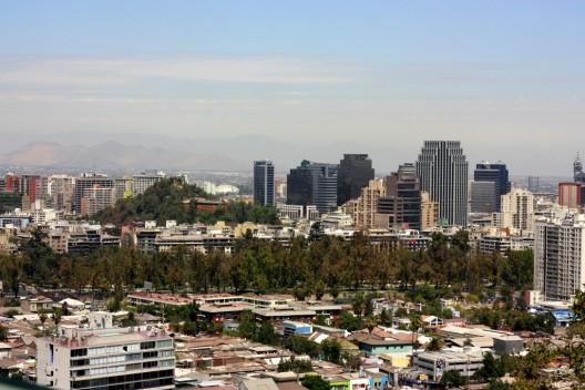 Santiago desde el cerro San Cristóbal. © Marcio Cabral de Moura, vía flickr.