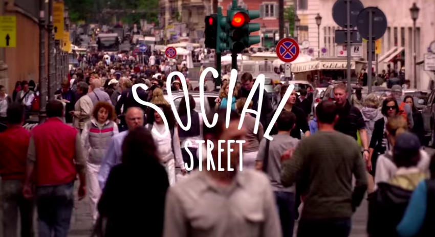 Imagen del video promocional de Social Street.