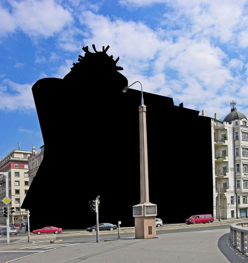 Casa Danzante en Praga, República Checa. Image Cortesia de Hpschaefer [Wikipedia user CC]