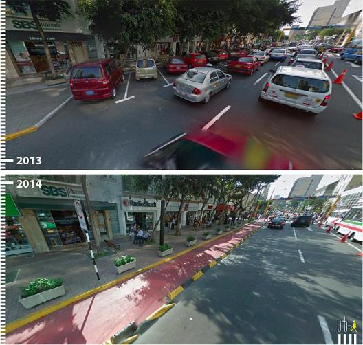 Avenida Jose Larco Lima Peru