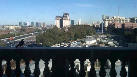Balcon del Despacho de Eva Peron