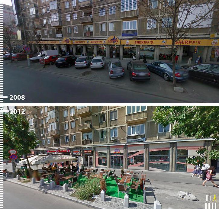 Boulevard Ion C Bucarest Rumania