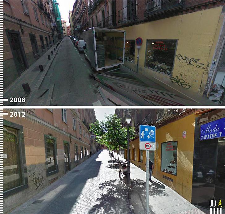 Calle Marques de Leganes Madrid Espana