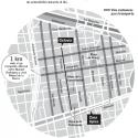 calles exclusivas buses y peatones santiago centro