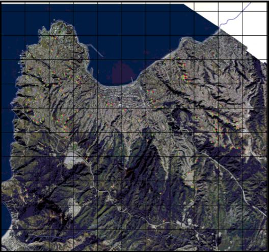 Figura 1. Localización de vertederos ilegales en la comuna de Valparaíso Fuente: Cartografía solicitada a CONAF mediante ley de acceso a la información pública.