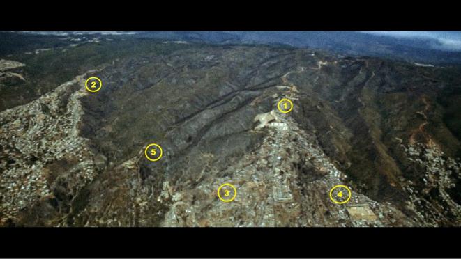 Figura 3. Localización vertederos en zona afectada por el incendio (2)