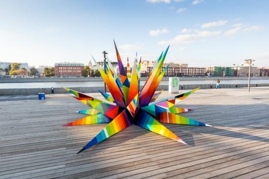 """""""Chaos Star"""" por Oscar San Miguel. Moscú, Rusia."""