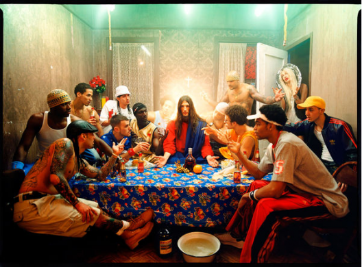 """Last Supper"" de David LaChapelle."