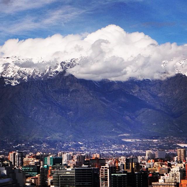 Cordillera de los Andes, Santiago. Cortesía Amo Santiago.