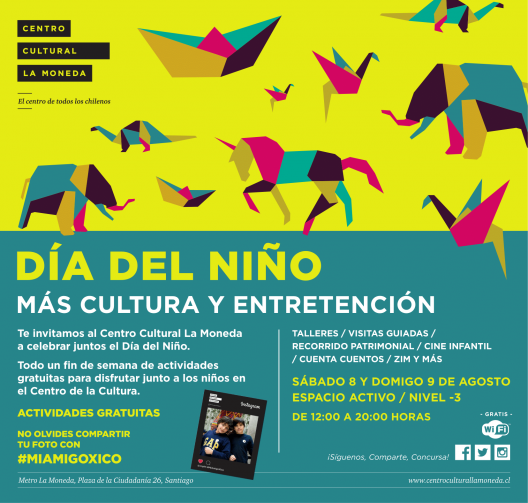 dia del nino 2015 centro cultural palacio la moneda