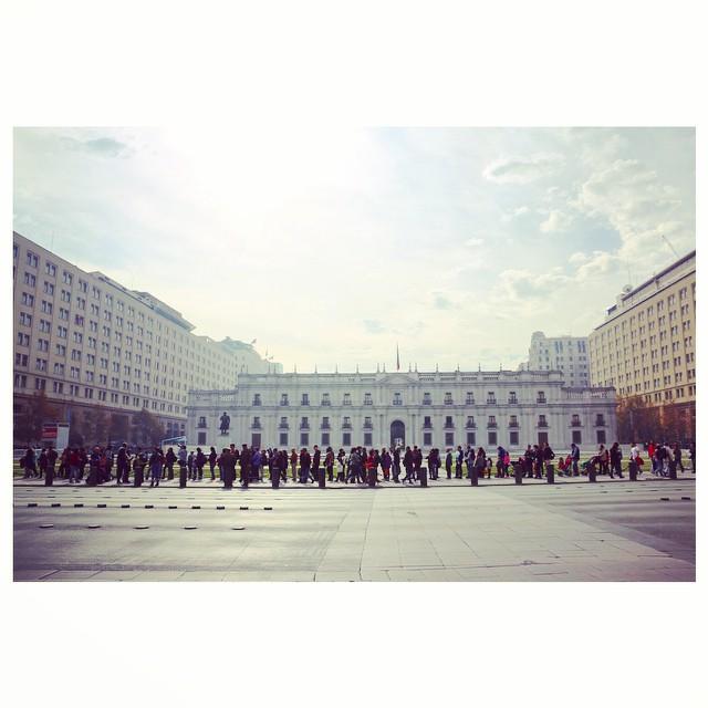 Día del Patrimonio en el Palacio La Moneda. Cortesía Amo Santiago.