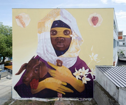 """Exodus II"" por INTI en Saint-Nazaire, Francia."