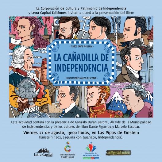 invitacion lanzamiento libro canadilla Letra Capital
