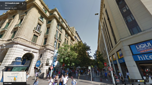 Paseo Ahumada Esquina Compania Google Street View