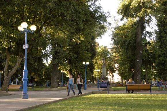Plaza de Armas de Chillán. Fuente imagen: Municipalidad de Chillán.
