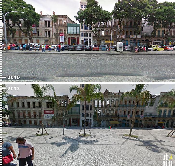 Plaza Tiradentes Rio de Janeiro Brasil