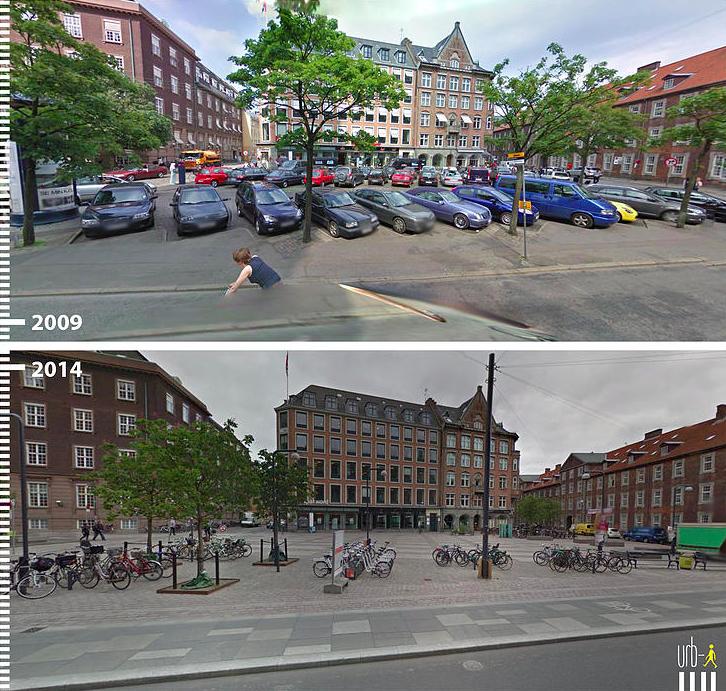 Regnbuepladsen Copenhague Dinamarca