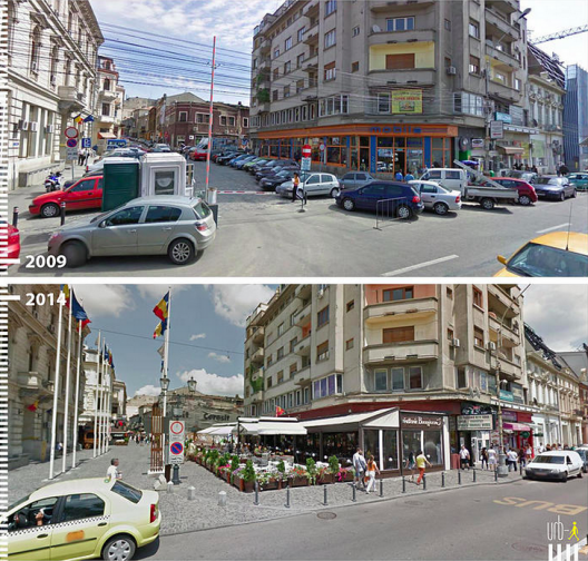 Strada Halelor Bucarest Rumania