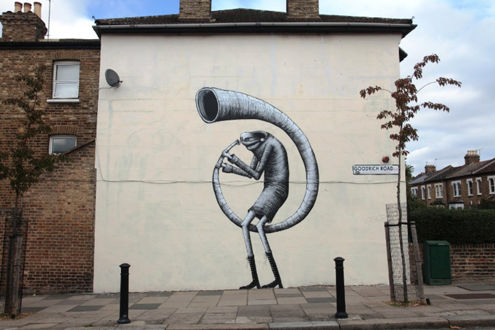 """The Triumph Of David"" por Phlegm. Londres, Reino Unido."