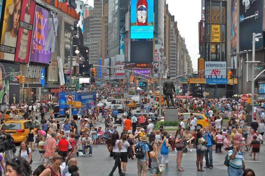 Times Square, Nueva York. © David McSpadden, vía Flickr.