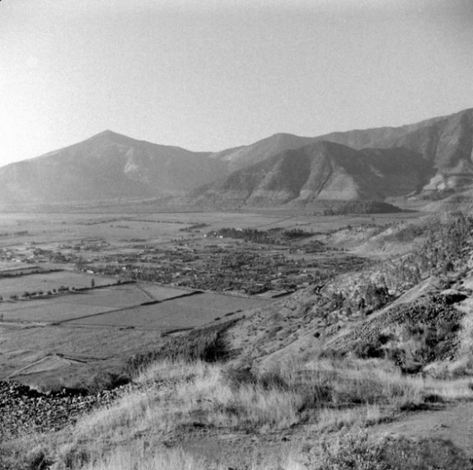 Cerro Renca en 1941. Fuente: Alberto Sironvalle (alb0black en Twitter)