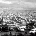 Vista desde el Cerro San Cristóbal en 1963. Fuente: Alberto Sironvalle (alb0black en Twitter).