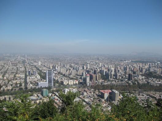 Vista desde el cerro San Cristóbal. © MrHicks46, vía Flickr.