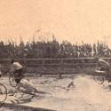 Caida en Valparaiso.Cortesia Historia del Ciclismo Chileno