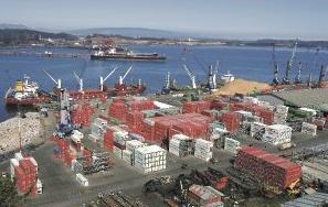 puerto bahia san vicente talcahuano region biobio