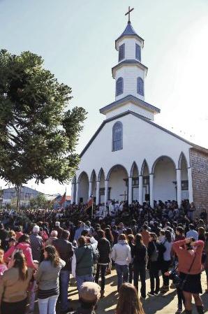 iglesia de dalcahue chiloe