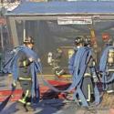 incendio linea 1 metro de santiago