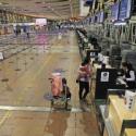 paro aeropuerto de Santiago