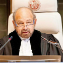 presidente corte internacional la haya