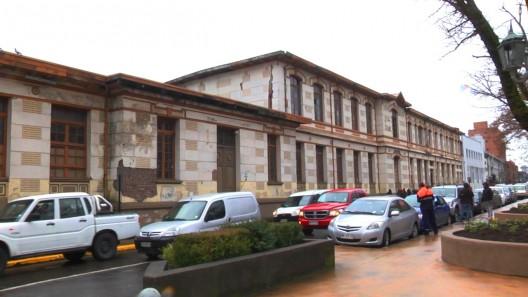 Ex Liceo de Hombre. Cortesía Ministerio de Bienes Nacionales.