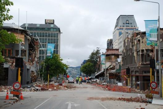 Christchurch después del terremoto. © geoftheref, vía Flickr.