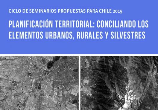 Flyer Seminario Planificacion territorial conciliando elementos urbanos rurales y silvestres
