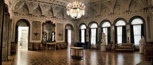 Interior Palacio Vergara, Viña del Mar. © Marcelo Salazar, vía Wikimedia Commons.